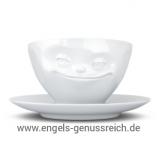 Kaffeetasse Grinsend